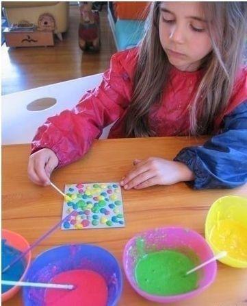Как сделать самодельные объемные краски