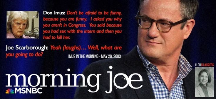 Joe scarborough fuck