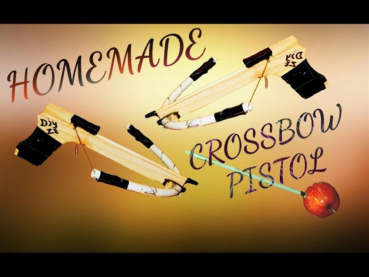 PLAY VIDEOSUBSCRIBE MY CHANNELfun and easy crossbow pistol under £10this is a toy not a weapon. I do not take any responsibility of your actions. check out my YouTube Channel for more cool stuff.