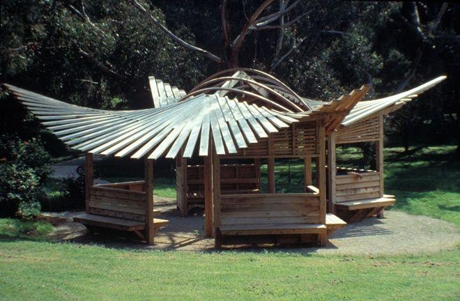 Heide Rose Pavilion - Gregory Burgess Architects