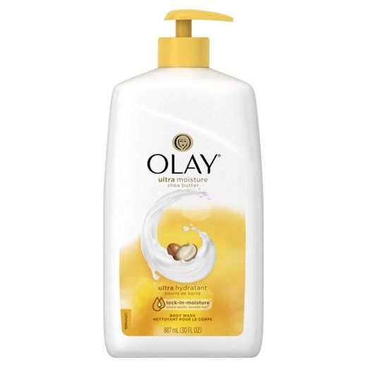 Our advanced Ultra Moisture Body Wash formula, with Olay moisturizers and shea butter, gives you long-lasting moisture that absorbs and helps to treat dryness at the source.