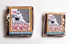 The Exceptional Brownie packaging