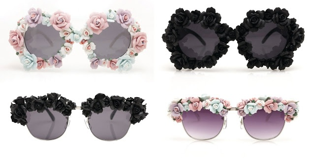 How adorable are these sunnies I found on MINKPINK's website. You can even make your own. I'm inlove with the pastle