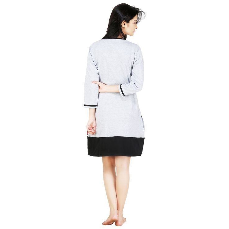 :) :) Summer Shopping Deals :) :) ✔ Nite Flite Heather Grey Panel Nightie For Women ✔ Starting Range:- 599/- ₹   Shop Now:- http://www.amazon.in/gp/product/B00RBBD5RQ/ref=as_li_tl?ie=UTF8&camp=3626&creative=24790&creativeASIN=B00RBBD5RQ&linkCode=as2&tag=wwwstyleincra-21  #Buyonlineshopping #Styleincraft #Women #Amazon #NightDress