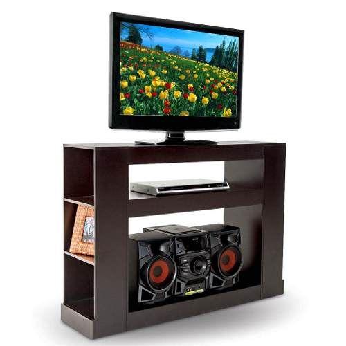 Mesa Para Tv Malaga Estilo Contemporáneo, Color Chocolate - $ 1,190.00
