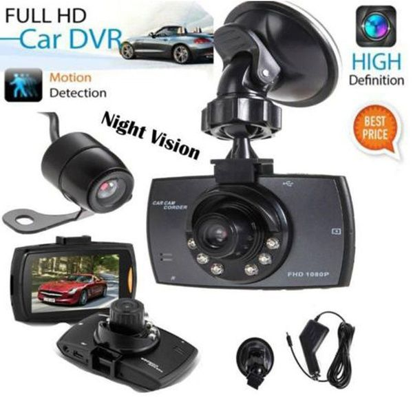 "Wish | HD 2.5"" LCD 1080P Car DVR Vehicle Camera Video Recorder Dash Cam Night Vision (Color: Black)"