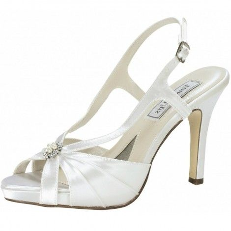 Touch Ups Ivory Wedding Shoes