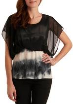 Want.Fashion, Stylish Night, Ties Dyes Shirts, Dark, Stylesay Obsession, Pretty Tops, Modcloth Com, Dreams Closets, Night Tops