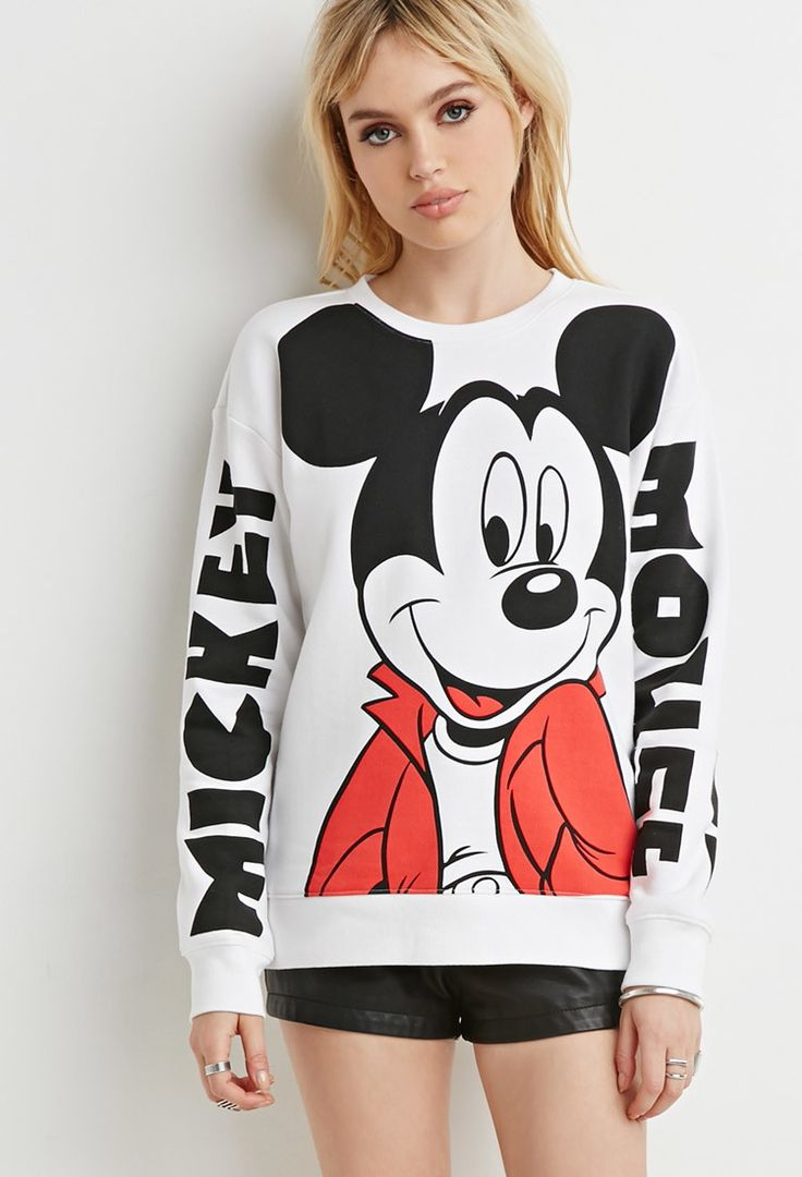 Mickey Mouse Pullover Sweater