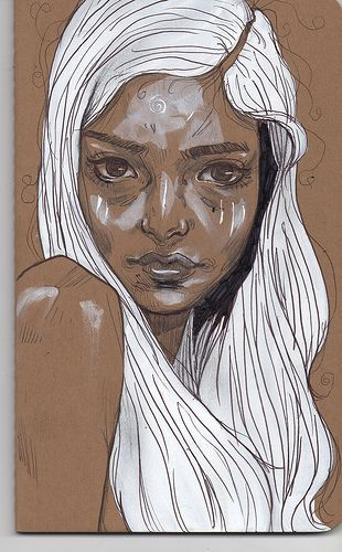 moleskine drawings. I love these!