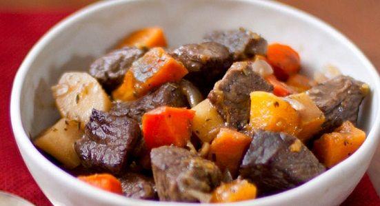Carne com Batatas no Forno