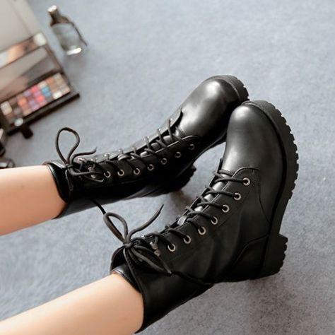 Black boots SE9329 https://ladieshighheelshoes.blogspot.com/2016/11/holiday-sale.html