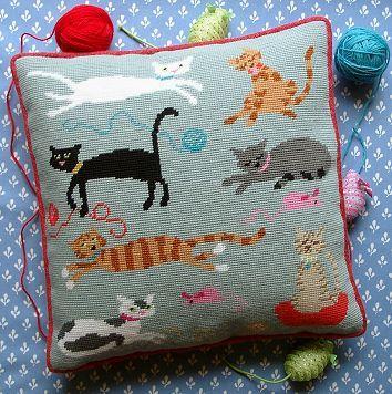 'Moggies' Tapestry Kit