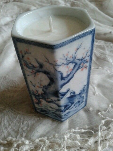 Chinese ornament candle