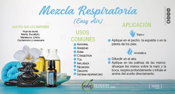 Te sientes congestionado, con tos o ansiedad.... Easy Air es ideal para combatir estos síntomas. #EsenciasDoterra #MezclaRespiratoria #EasyAir #ADNnutriciónholística  Más información en: http://mydoterra.com/adnnutricionholistica