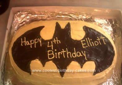 Make A Batman Birthday Cake Troy