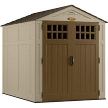 Walmart: Suncast 6' x 8' Blow-Molded Shed, Taupe