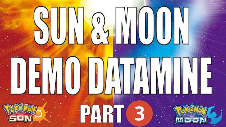 SUN MOON DEMO DATAMINE - Part 3