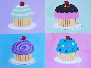 Cupcake art project - Ms. Malone's Art Room