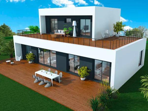 25 best ideas about prix maison ossature bois on pinterest lodge moderne structure en bois. Black Bedroom Furniture Sets. Home Design Ideas