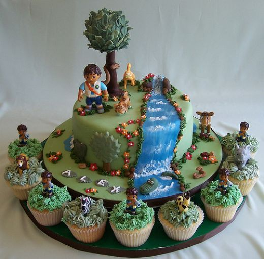 Best GO DIEGO GO Images On Pinterest Go Diego Go Birthday - Go diego go birthday cake