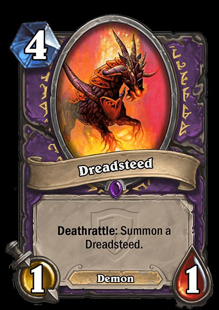 The Dreadsteed card!