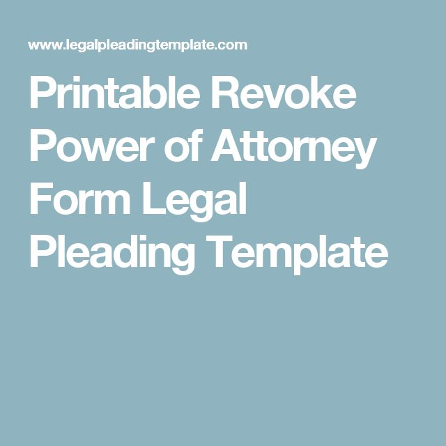De 25+ bedste idéer inden for Power of attorney form på Pinterest - general power of attorney form