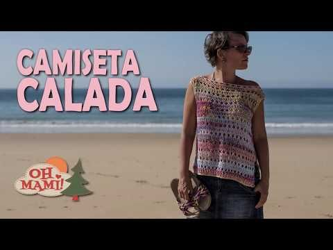 Camiseta Calada Mimi a crochet - YouTube