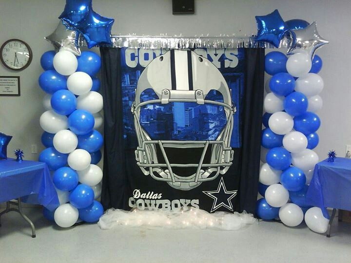 Dallas Cowboy Bday Party