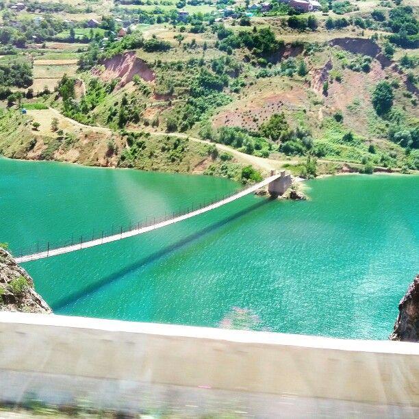 #Gümüşhane #kürtünbarajı üzerindeki uzun asma köprü ...