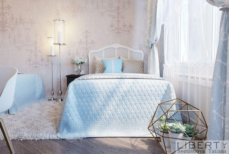 Спальня для 2х девочек 0(555)290011 ☎️.   Продолжаем делиться с вами нашим дизайном нежной спальни для девочек.   www.design.liberty.kg Дизайн и Визуализация SvetashovaTatiana