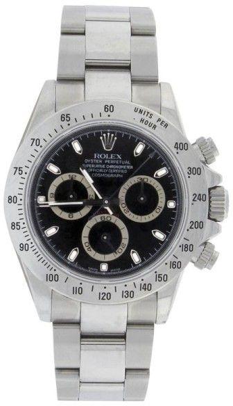 Rolex Daytona 116520 Stainless Steel 40 mm Mens Watch