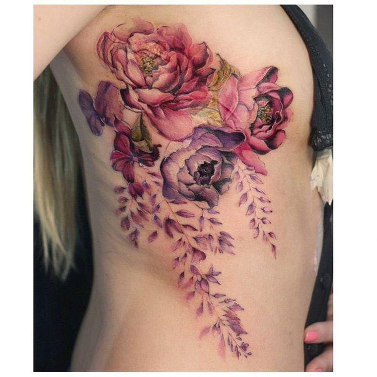 Beautiful watercolor florals