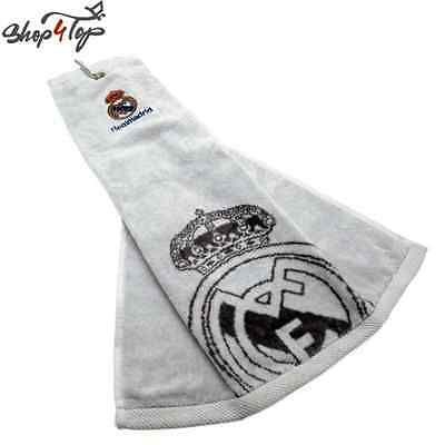 Real madrid official football #soccer club team fc tri fold golf #towel #licensed,  View more on the LINK: 	http://www.zeppy.io/product/gb/2/171889379255/