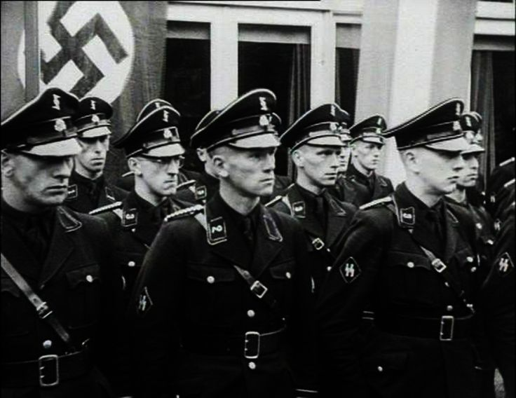 Gestapo-- The thought police are a brutal police force, formed when a government has too much power. Nazi Germany's gestapo is a real life example of a dangerous police force like the thought police.