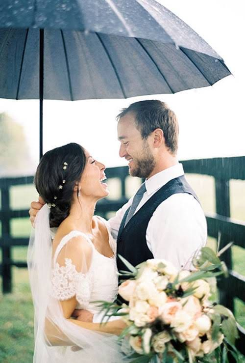 Tips for Rain on Wedding Day
