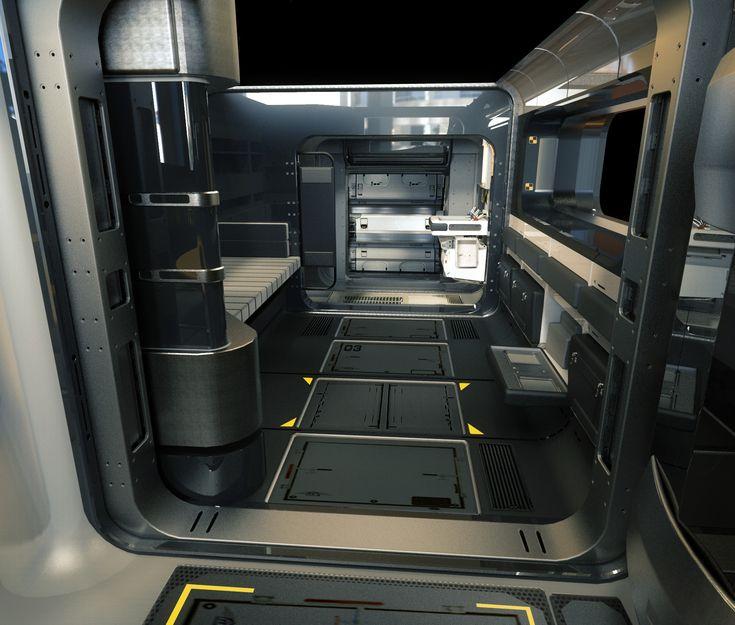 44 best cyberpunk office images on pinterest spaceship for Cyberpunk interior design