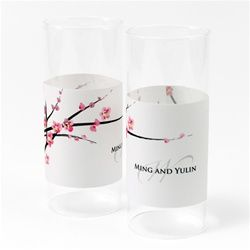 Personalized Cherry Blossom Luminary Wrap