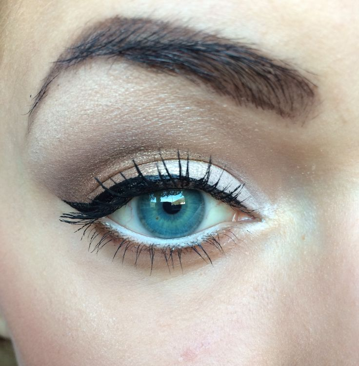 #líčenie #modré #oči #eyemakeup #blue #eyes