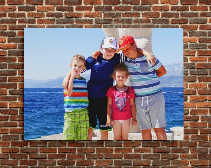 Vlastné foto na plátno 92 X 65 CM - 35€