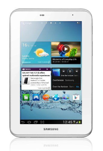 "Samsung Galaxy Tab 2 7 inch Tablet - White (16GB, WiFi, Android 4.0);  used PRICE: £200.00. Easy MULTIMEDIA access, PLAYBACK and SHARING experiences; ENGAGE & ENTERTAIN all the family; BROWSE the web/watch MOVIES/read e-BOOKS.  ""SMASHING Sammy Budget Tablet, I LOVE it!"" – By Mr. A. FISHER. MORE via: http://www.sd4shila.net/uk-visitors OR http://sd4shila.creativesolutionstore.com/inter-links.html  OR http://sd4shila.creativesolutionstore.com OR http://www.sd4shila.net"