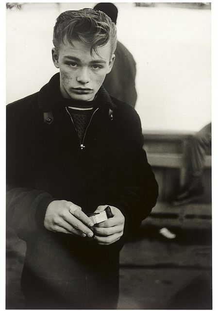 Diane Arbus, Teenage Boy, NYC, 1961