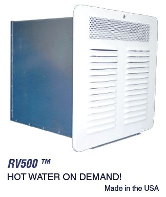 Precision Temp RV-550 Tankless Propane Hot Water On Demand Water Heater with