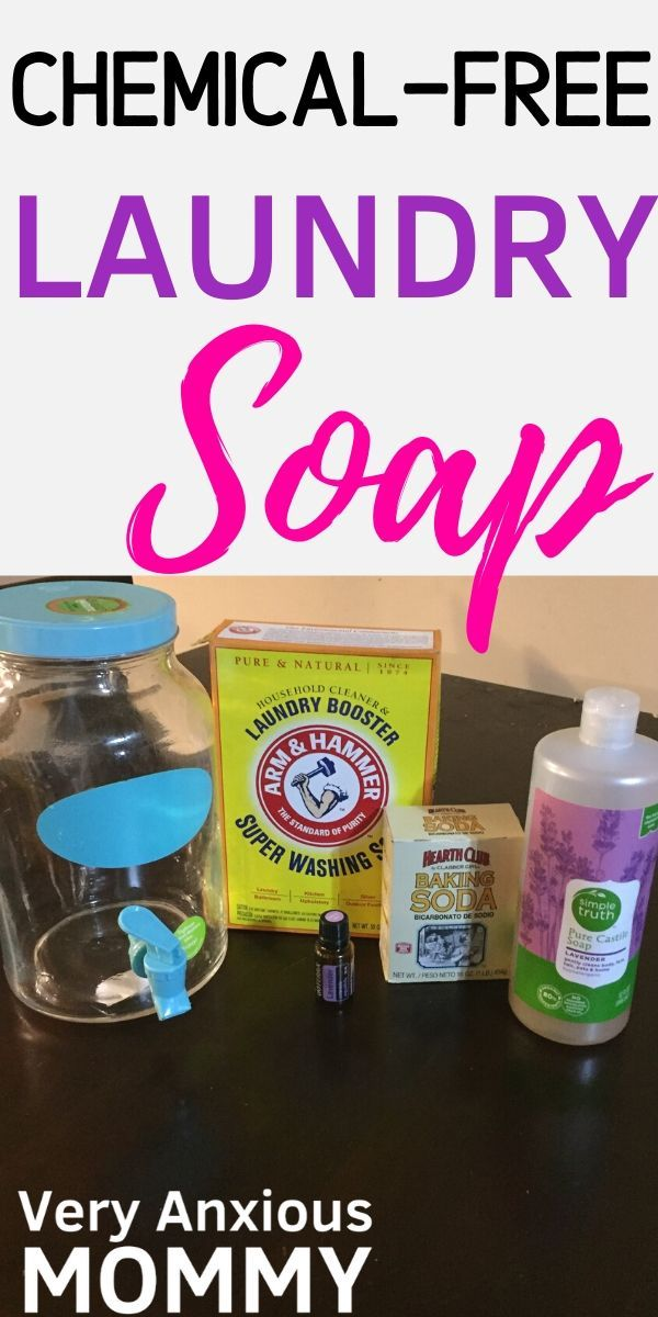 How To Make All Natural Homemade Laundry Detergent Homemade