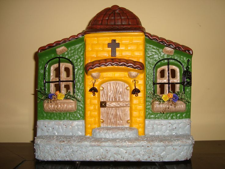 Hermosa fachada de cerámica