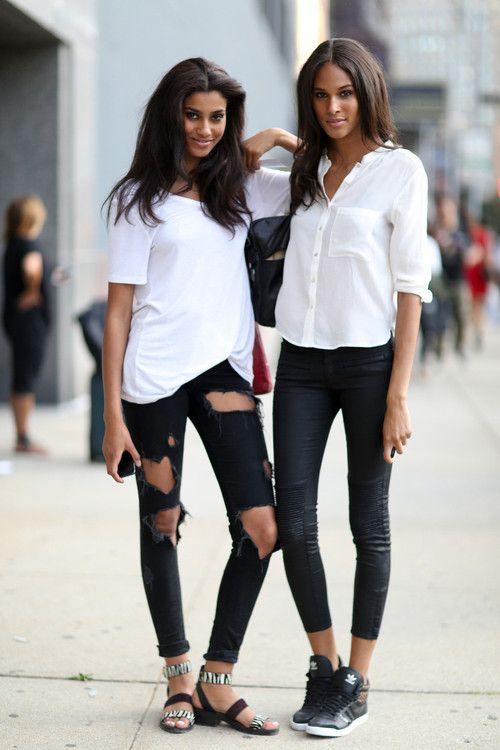 Wastelandian: imaan hammam and cindy bruna