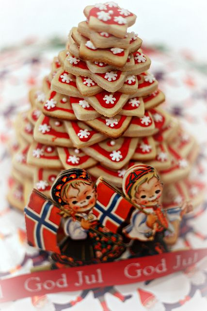 Kransekake for Scandinavian Christmas