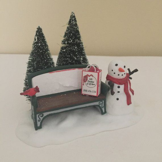 Incredible Department 56 Our Very Own Park Bench Miniature Park Bench Camellatalisay Diy Chair Ideas Camellatalisaycom
