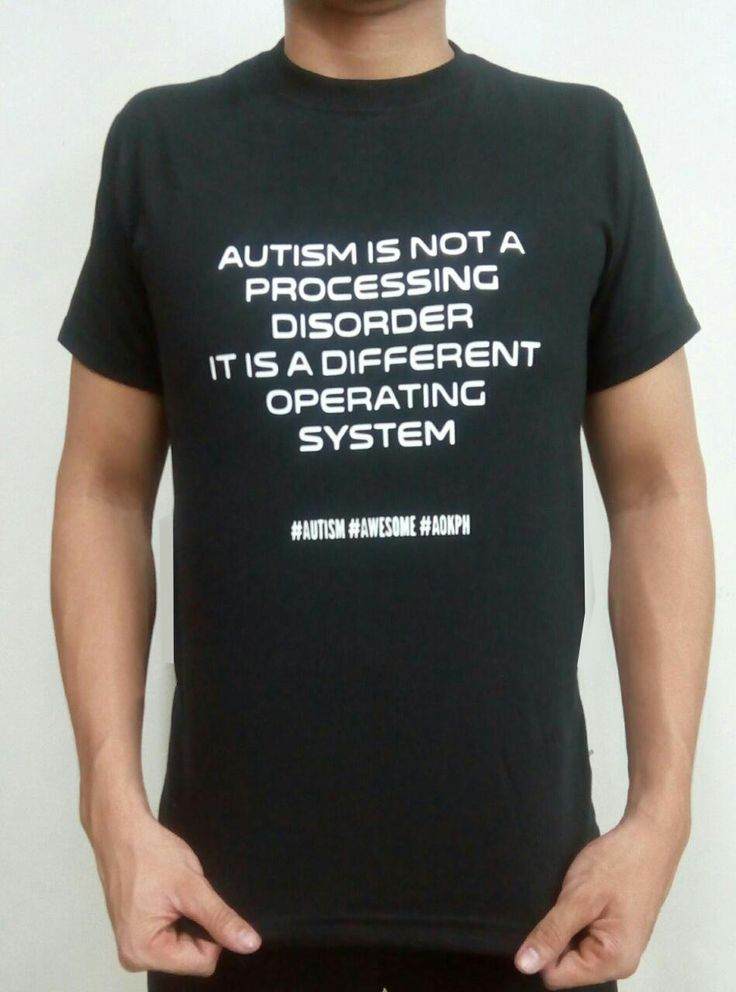 """Autism is not a processing error. It is a different operating system."". Sa computer, may Linux, may Apple OS X -- porket hindi Microsoft Windows, hindi ibig sabihin, hindi gumagana.    Order this item at: https://autismall.myshopify.com/products/hugot-autismo-operating-system"