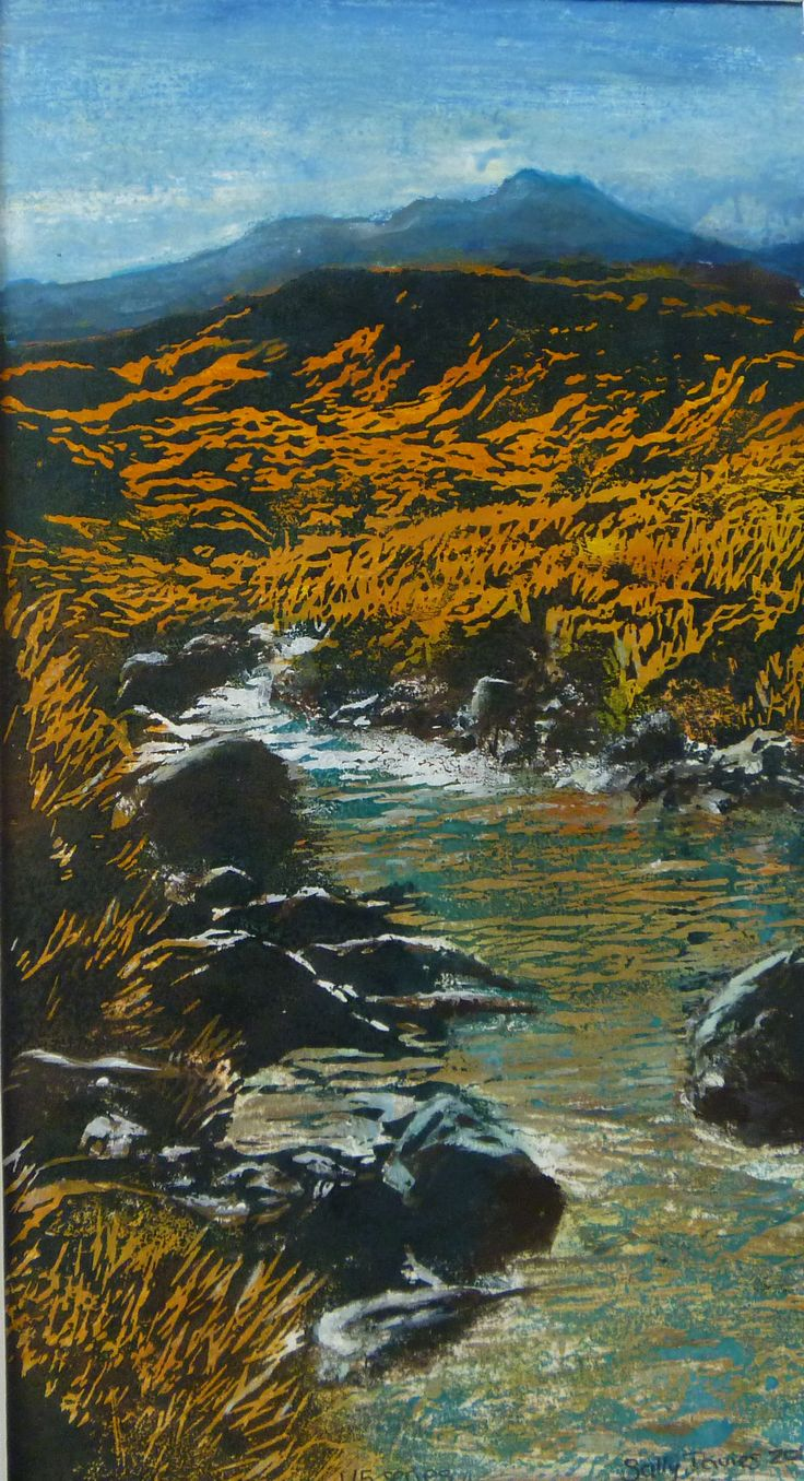 Mountain Stream - Ruapehu